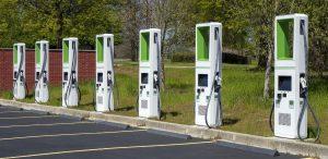 Level 3 EV charging station